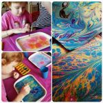 мастер-класс Эбру-рисование на воде